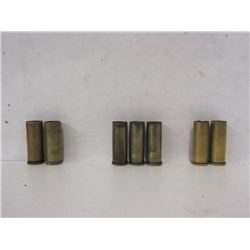 45 Colt, 44 Rem Mag, and 44-40 Win Brass
