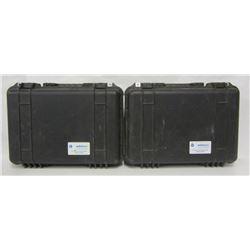 Two Hard Pistol Cases