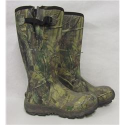 Camo Rubber Boots Size 13