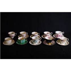 England Bone China tea sets for 9 sets.