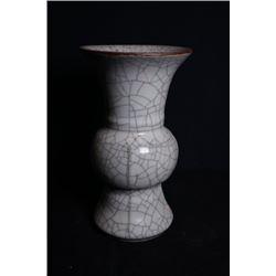 Gracked-Glaze and Celadon-Glazed Vase.