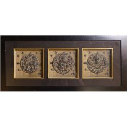 A Decorative Painting with auspicious animal&Buddha&Dragon pattern.