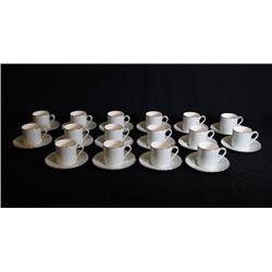 ROYAL DOULTON england bone china two tea sets