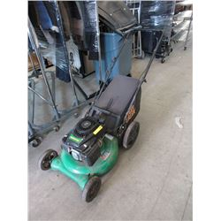 Weedeater 140cc Rear Bag Lawnmower with Catcher