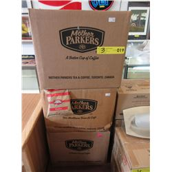 3 Cases of Mother Parker's Coffee