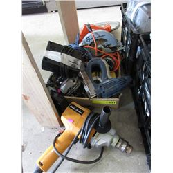 Box of Electric Power Tools