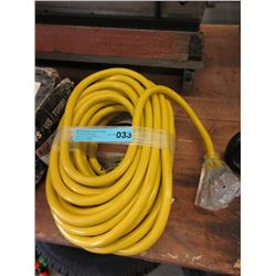 New Heavy Duty 50 Foot Multi Outlet Extension Cord