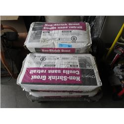 Four 25 kg Bags of Non Shrink Cement Grout