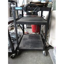 Rolling Cart with Extension Cord