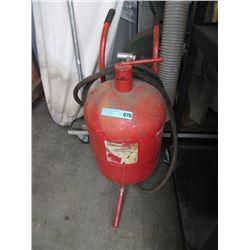 Sandblaster Pressure Tank