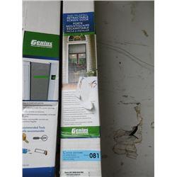 Genius Retractable Screen Door (78.5in x 80.5in)