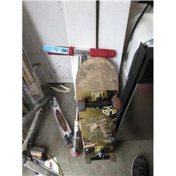 Razor Scooter & Skateboard