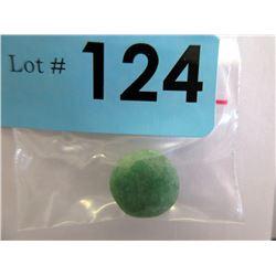 11.5 CT Loose Round Cut Emerald Gemstone