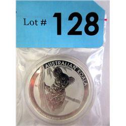 1/2 Oz. .999 Fine Silver 2015 Koala Coin