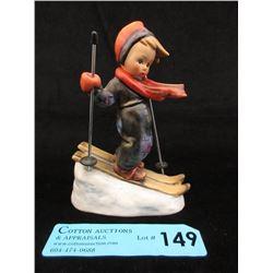 "6"" Goebel Hummel Figurine - ""Skier"""
