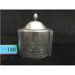 Silver Plated Hudson's Bay Anniversary Trinket Box