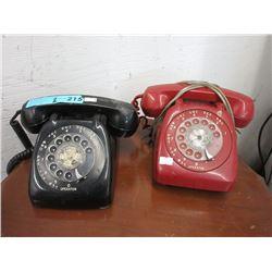 2 Vintage Dial Telephones