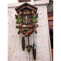 Wood Cuckoo Clock