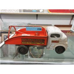 1950s Structo Pressed Steel Tow Truck