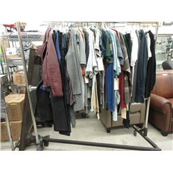 Rack of Assorted New Clothing