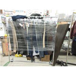 Rack of Assorted New Pants