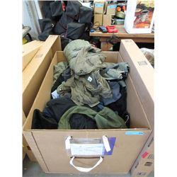 15 Cubic Foot Box of Jackets, Shirts & Pants
