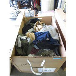 15 Cubic Foot Box of Shirts & Jackets