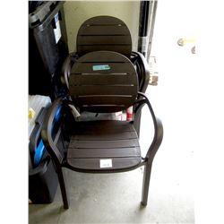 4 New Nardi Palma Chairs