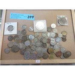 1964 USA Coin Set & Vintage Slot Machine Tokens
