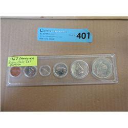 1967 Canadian Centennial Penny to Dollar Coin Set