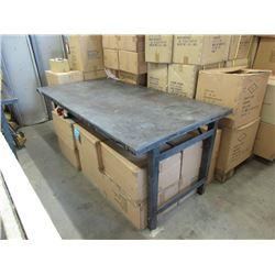 Metal Work Table