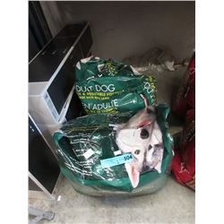 Two 18 lb. of Dry Dog Food - Resealed