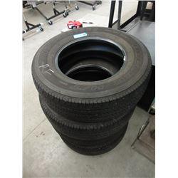 4 Bridgestone P255/70R17 Tires - Dueler H/T