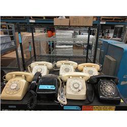 7 Vintage Telephones