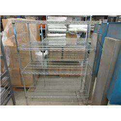4 Tier Metal Shelving Unit