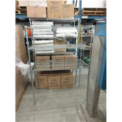 3 Tier Metal Shelving Unit