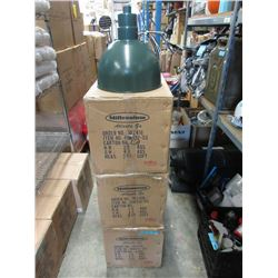 3 Cases of New Industrial Style Hanging Lights