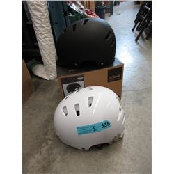 2 New TSG Helmets - Size S/M & XL