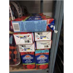 3 Dozen 1 Litre Tetra Packs of Apple Juice