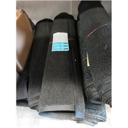 """Two 33"""" Wide Rubber Back Carpet Mats"""