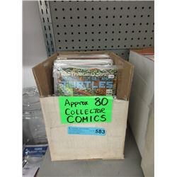 Approximately 80 Collector Comics