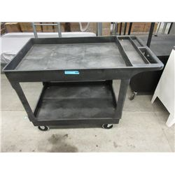 Rolling Commercial Utility Cart
