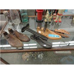 Wood Shoe Forms & Last