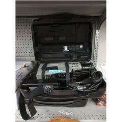 2 Panasonic Video Cameras