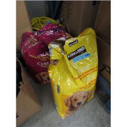 2 Large Bags of Kirkland Dry Dog Food - Resealed