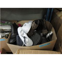 Large Box of Assorted Footwear - Most Are New