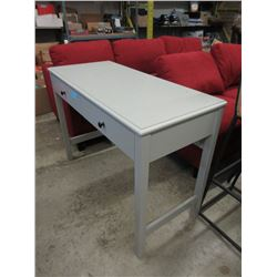Grey Desk with Drawer