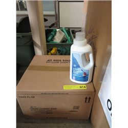 "Case of ""Spring Fresh"" Liquid Laundry Soap"
