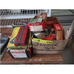Vintage Ignition Parts & Tools - Original Boxes