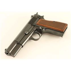 Browning Hi Power 9mm SN: 76C14187